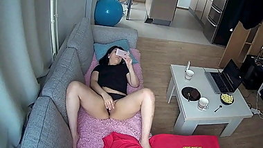 Girls Masturbating